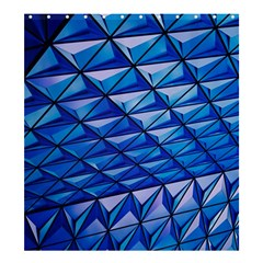 Lines Geometry Architecture Texture Shower Curtain 66  X 72  (large)