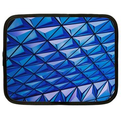 Lines Geometry Architecture Texture Netbook Case (xl)