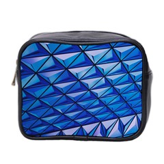 Lines Geometry Architecture Texture Mini Toiletries Bag 2 Side