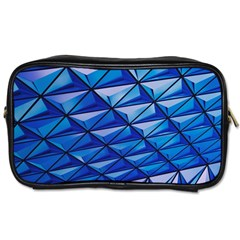 Lines Geometry Architecture Texture Toiletries Bags 2 Side