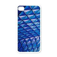 Lines Geometry Architecture Texture Apple Iphone 4 Case (white)