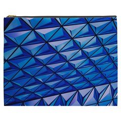 Lines Geometry Architecture Texture Cosmetic Bag (XXXL)