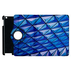 Lines Geometry Architecture Texture Apple Ipad 3/4 Flip 360 Case