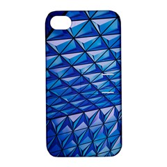 Lines Geometry Architecture Texture Apple Iphone 4/4s Hardshell Case With Stand