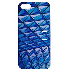 Lines Geometry Architecture Texture Apple Iphone 5 Hardshell Case With Stand