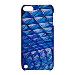 Lines Geometry Architecture Texture Apple Ipod Touch 5 Hardshell Case With Stand