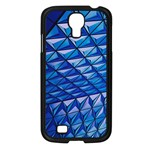 Lines Geometry Architecture Texture Samsung Galaxy S4 I9500/ I9505 Case (Black) Front