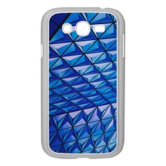 Lines Geometry Architecture Texture Samsung Galaxy Grand Duos I9082 Case (white)