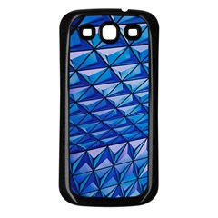 Lines Geometry Architecture Texture Samsung Galaxy S3 Back Case (black)