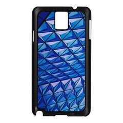 Lines Geometry Architecture Texture Samsung Galaxy Note 3 N9005 Case (black)