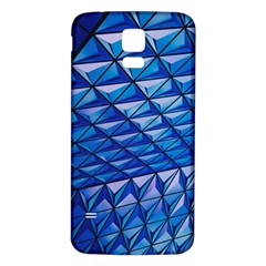 Lines Geometry Architecture Texture Samsung Galaxy S5 Back Case (white)