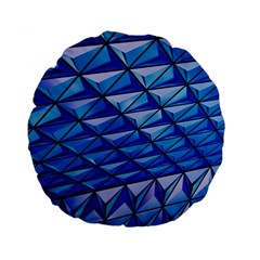 Lines Geometry Architecture Texture Standard 15  Premium Flano Round Cushions