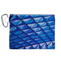 Lines Geometry Architecture Texture Canvas Cosmetic Bag (xl)