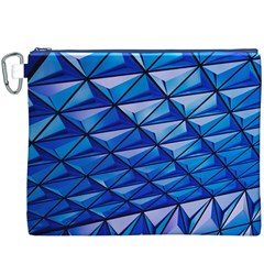 Lines Geometry Architecture Texture Canvas Cosmetic Bag (xxxl)