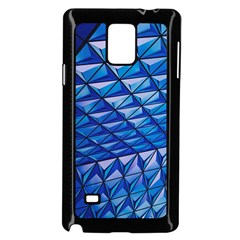 Lines Geometry Architecture Texture Samsung Galaxy Note 4 Case (black)