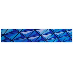 Lines Geometry Architecture Texture Flano Scarf (large)