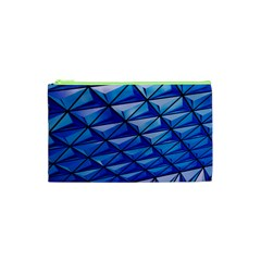 Lines Geometry Architecture Texture Cosmetic Bag (XS)