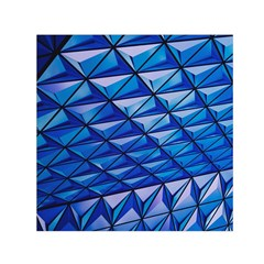 Lines Geometry Architecture Texture Small Satin Scarf (square)