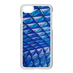 Lines Geometry Architecture Texture Apple Iphone 7 Seamless Case (white)