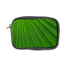 Green Lines Macro Pattern Coin Purse