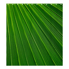Green Lines Macro Pattern Shower Curtain 66  X 72  (large)