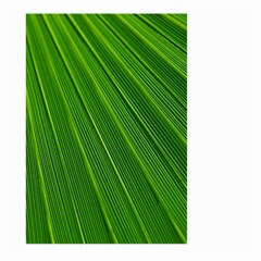 Green Lines Macro Pattern Large Garden Flag (two Sides)
