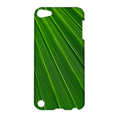 Green Lines Macro Pattern Apple Ipod Touch 5 Hardshell Case