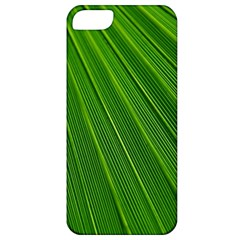 Green Lines Macro Pattern Apple Iphone 5 Classic Hardshell Case