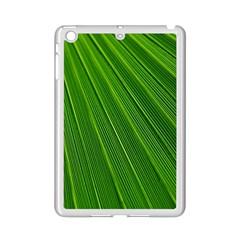 Green Lines Macro Pattern Ipad Mini 2 Enamel Coated Cases