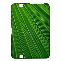 Green Lines Macro Pattern Kindle Fire Hd 8 9