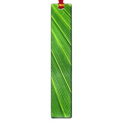 Green Lines Macro Pattern Large Book Marks