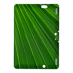 Green Lines Macro Pattern Kindle Fire Hdx 8 9  Hardshell Case