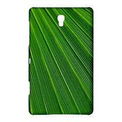 Green Lines Macro Pattern Samsung Galaxy Tab S (8 4 ) Hardshell Case