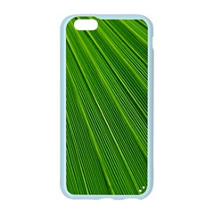Green Lines Macro Pattern Apple Seamless iPhone 6/6S Case (Color)