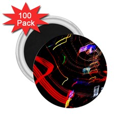 Night View Night Chaos Line City 2 25  Magnets (100 Pack)