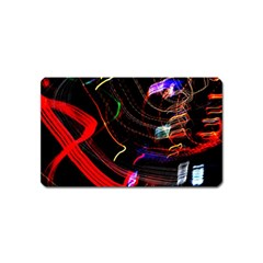 Night View Night Chaos Line City Magnet (Name Card)