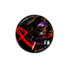 Night View Night Chaos Line City Hat Clip Ball Marker