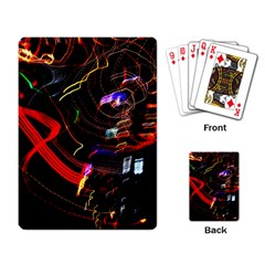 Night View Night Chaos Line City Playing Card