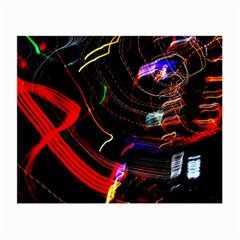 Night View Night Chaos Line City Small Glasses Cloth (2-Side)