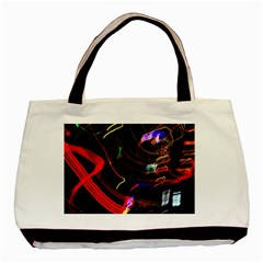 Night View Night Chaos Line City Basic Tote Bag (Two Sides)