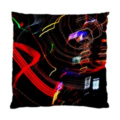 Night View Night Chaos Line City Standard Cushion Case (two Sides)