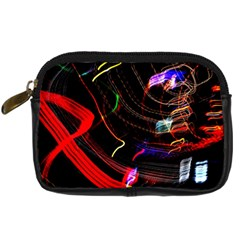Night View Night Chaos Line City Digital Camera Cases
