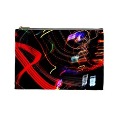 Night View Night Chaos Line City Cosmetic Bag (large)
