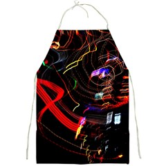 Night View Night Chaos Line City Full Print Aprons