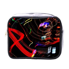Night View Night Chaos Line City Mini Toiletries Bags
