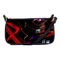 Night View Night Chaos Line City Shoulder Clutch Bags