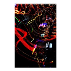 Night View Night Chaos Line City Shower Curtain 48  x 72  (Small)