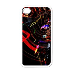 Night View Night Chaos Line City Apple Iphone 4 Case (white)