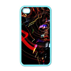 Night View Night Chaos Line City Apple iPhone 4 Case (Color)