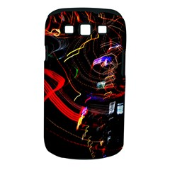 Night View Night Chaos Line City Samsung Galaxy S Iii Classic Hardshell Case (pc+silicone)